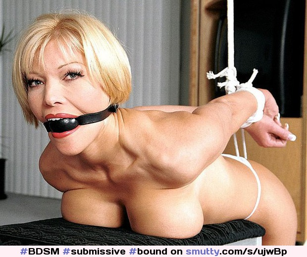 bondage otngagged beauty Housewife