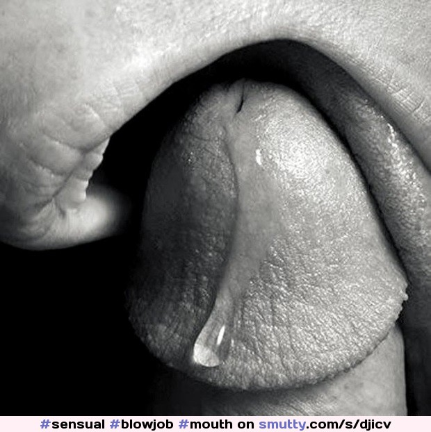 precum Model gloryhole tongue