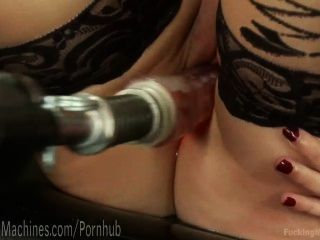 Hot Nude Glasses office jerking off solo