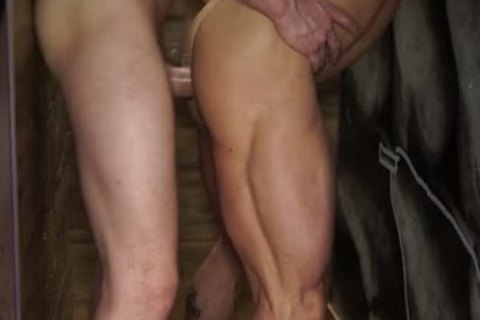 sissy muscle drunk Fisting