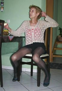 party grannies Stockings anal