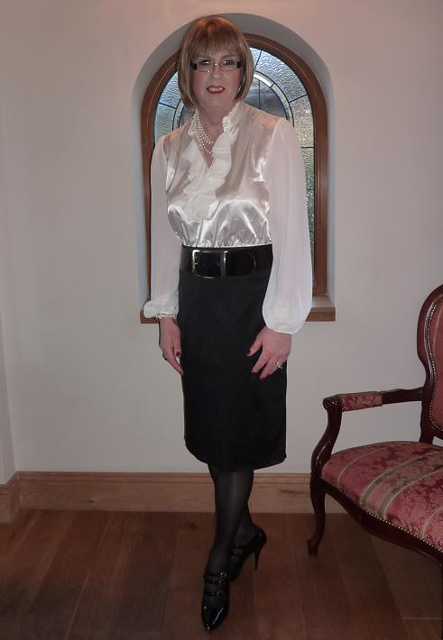 Amateur sissy office first time