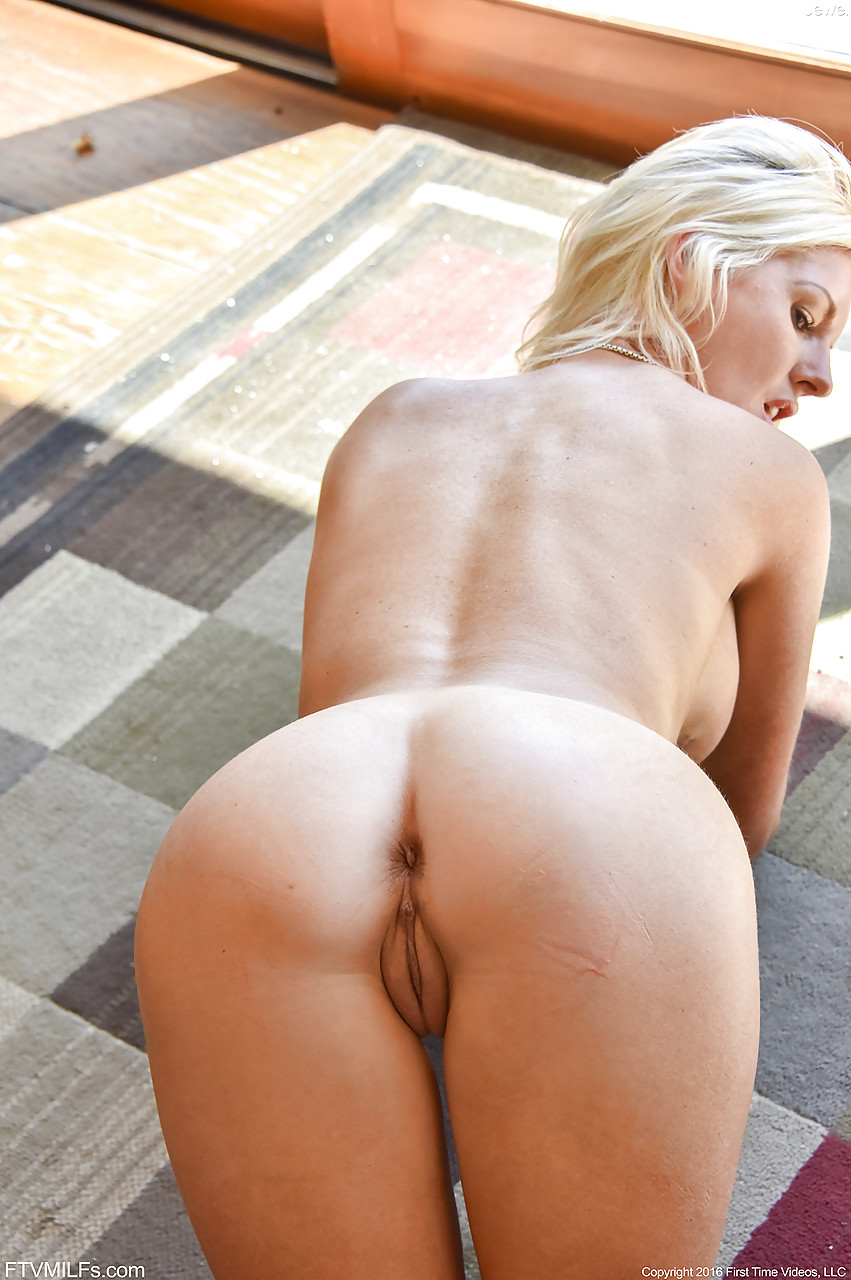 uniform blonde booty otngagged Big