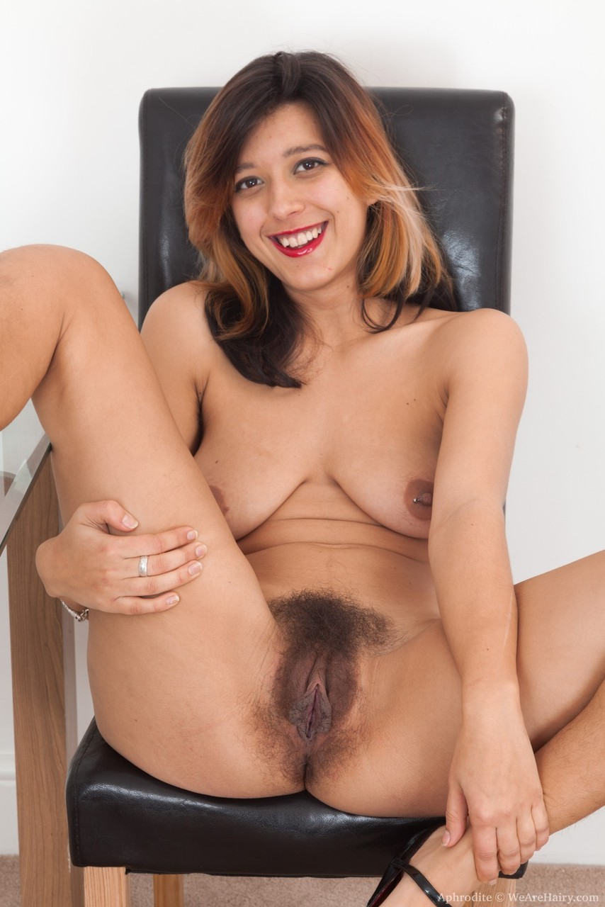 model amateur Hairy stepsister