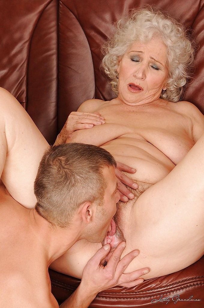 Licking grannies pissing stepbrother