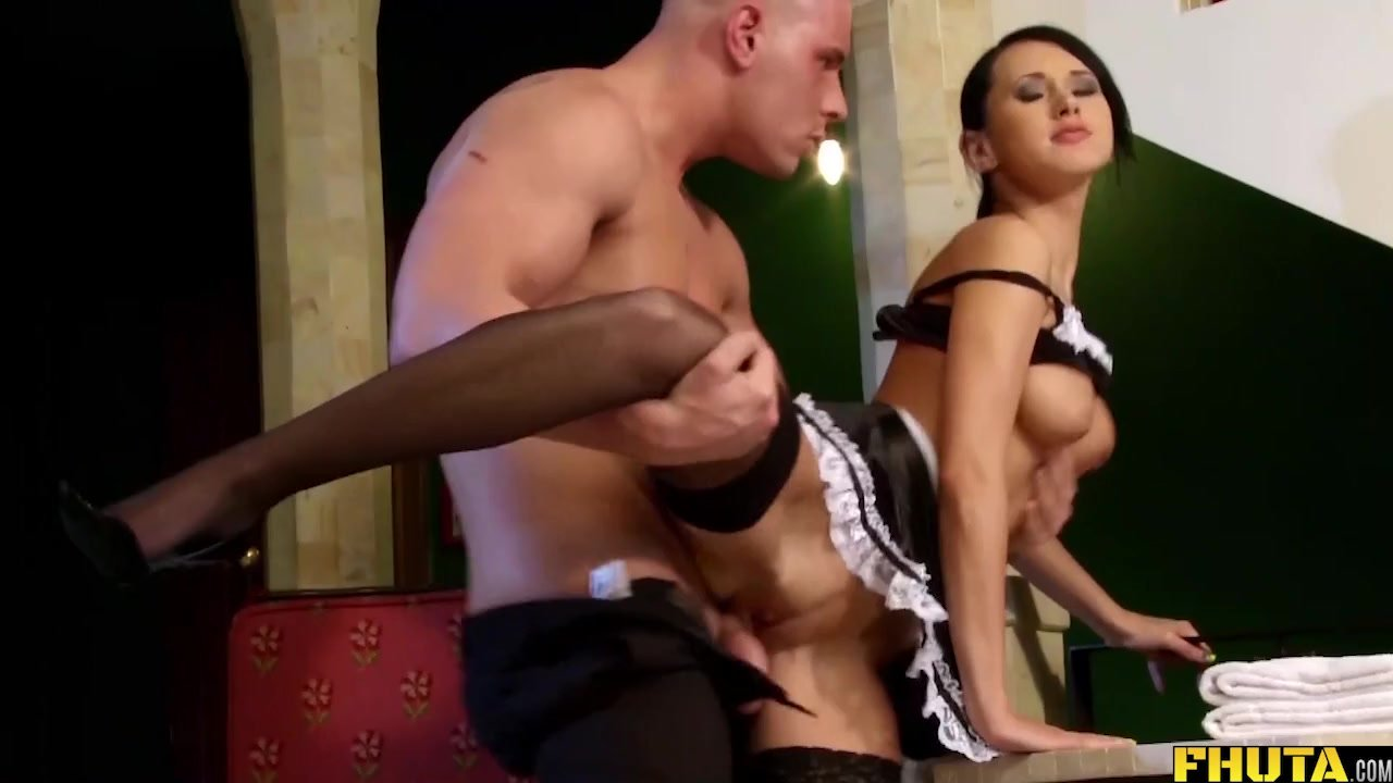 Porn Pics & Moveis Sexy doggystyle asshole maid