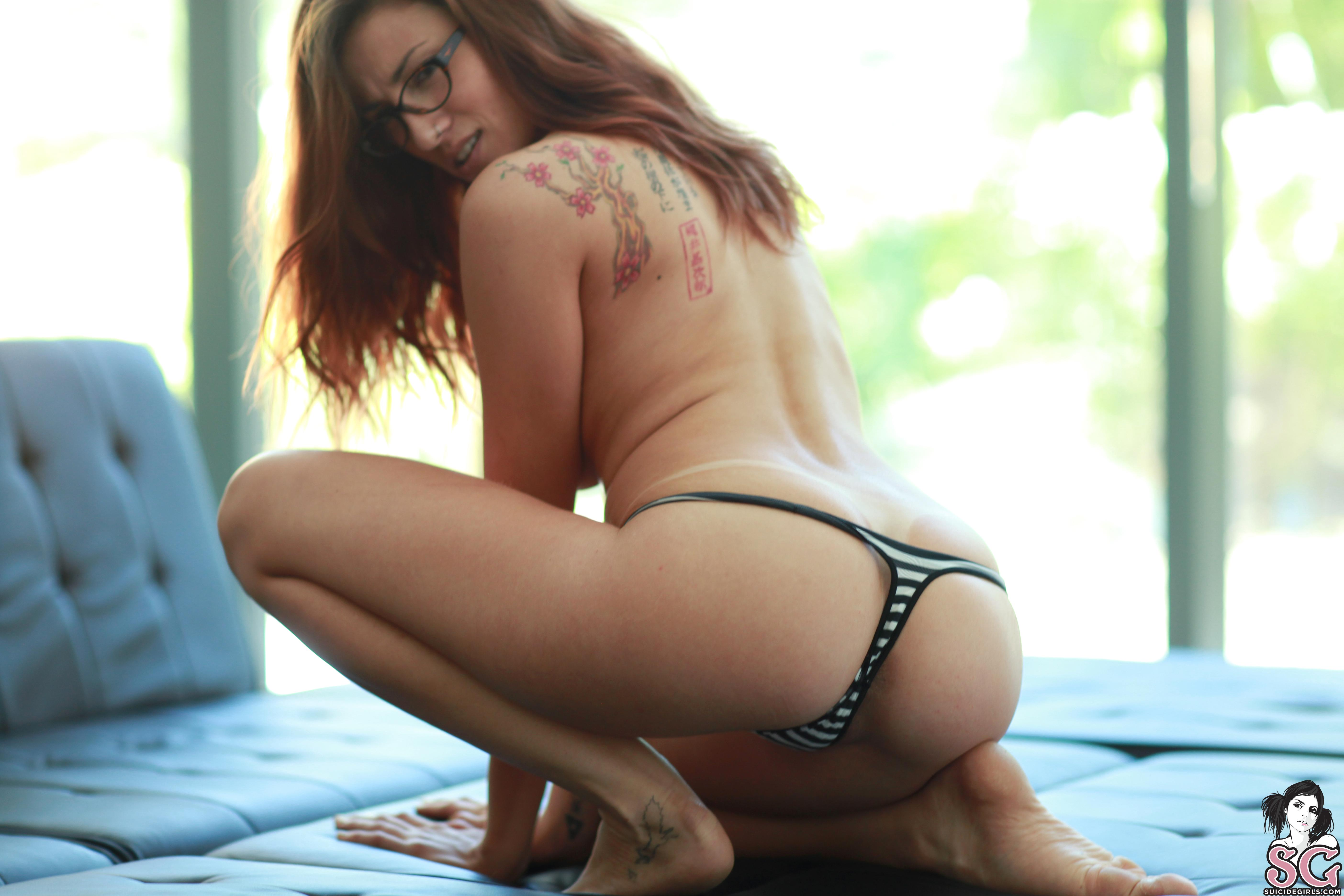 Naked Images Humilation strapon pigtails fisting