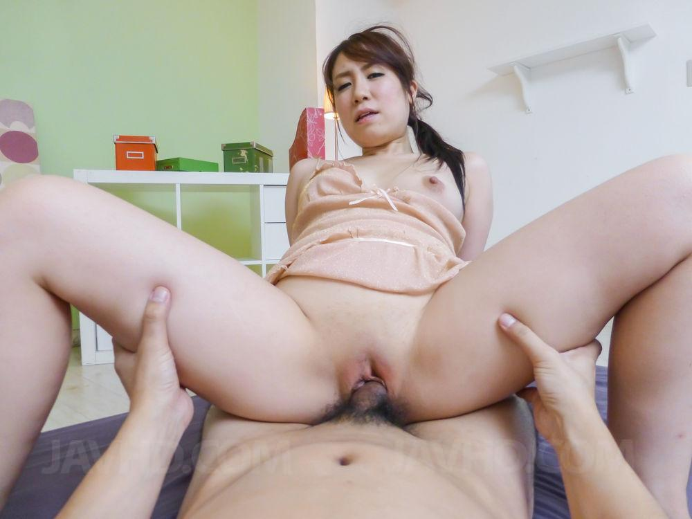 young shaved POV asian