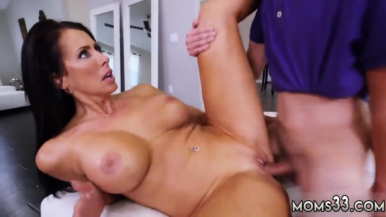 time Strapon oiled anal first